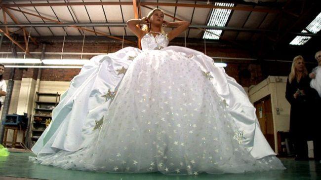 my big fat gypsy wedding dresses   tinker bell   Pinterest