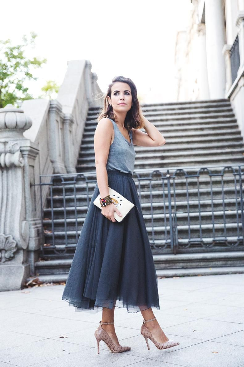 e09cb3209 17 Ways to Make Tulle Skirts Look Incredibly Chic | Ladylike Style ...