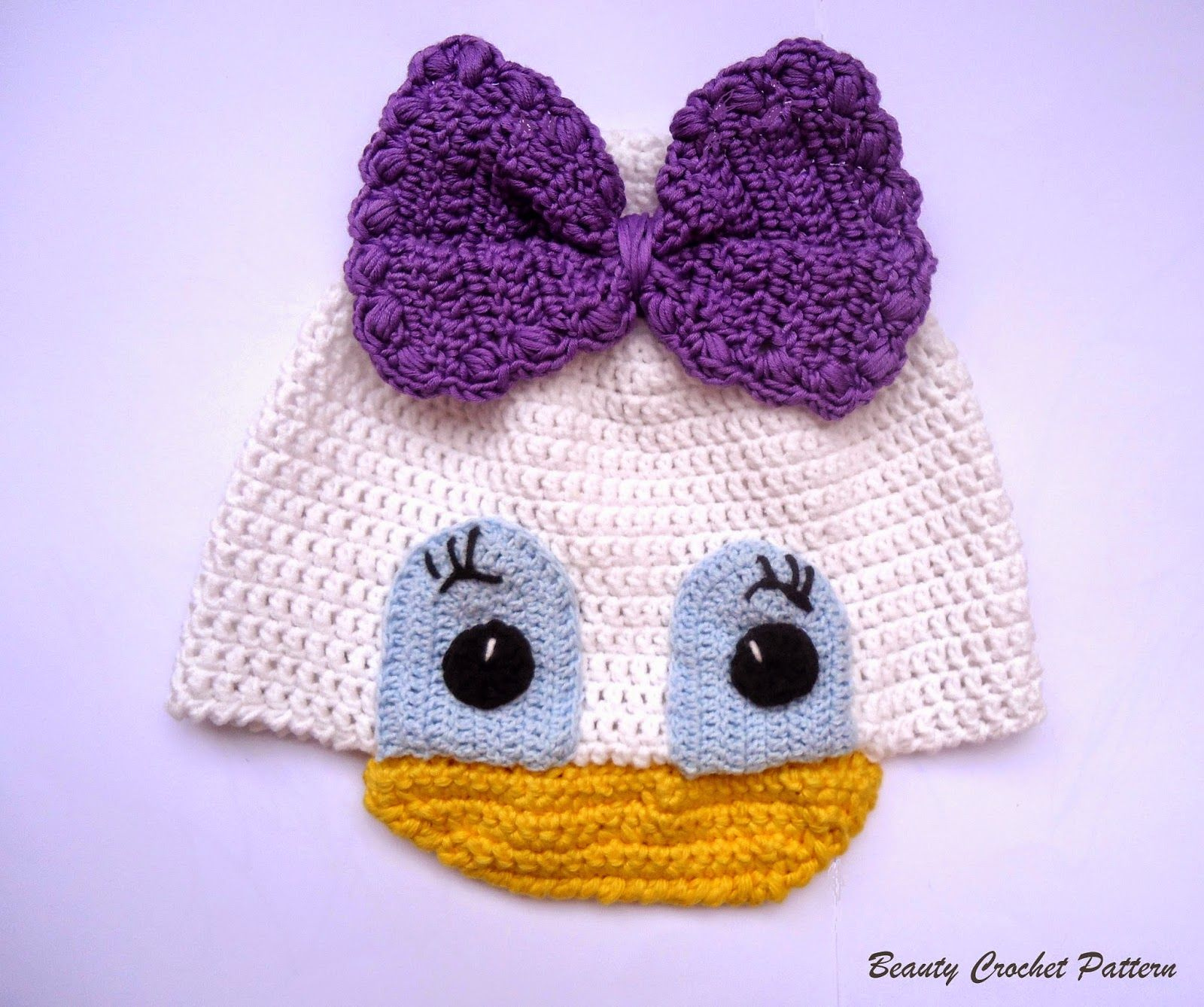 Beauty Crochet Pattern: DAISY CROCHET HAT PATTERN | crochet ...