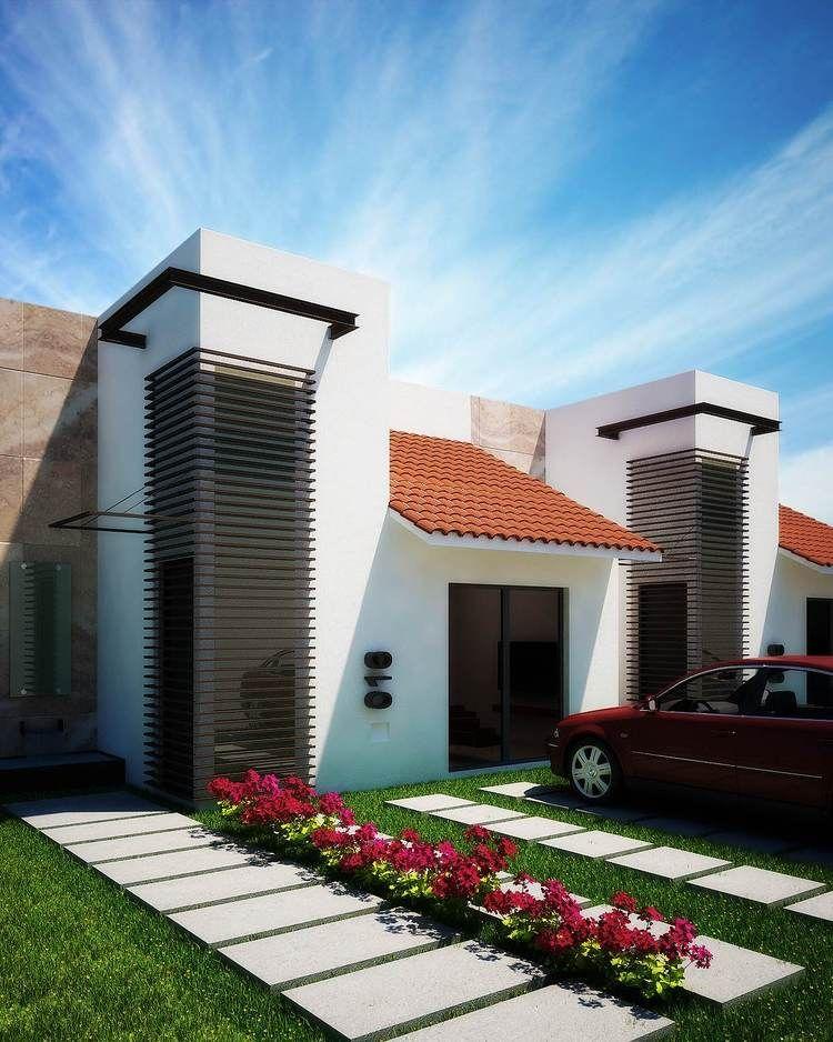 Fotos e im genes de fachadas mexicanas y casas con estilo - Imagenes de fachadas de casas ...