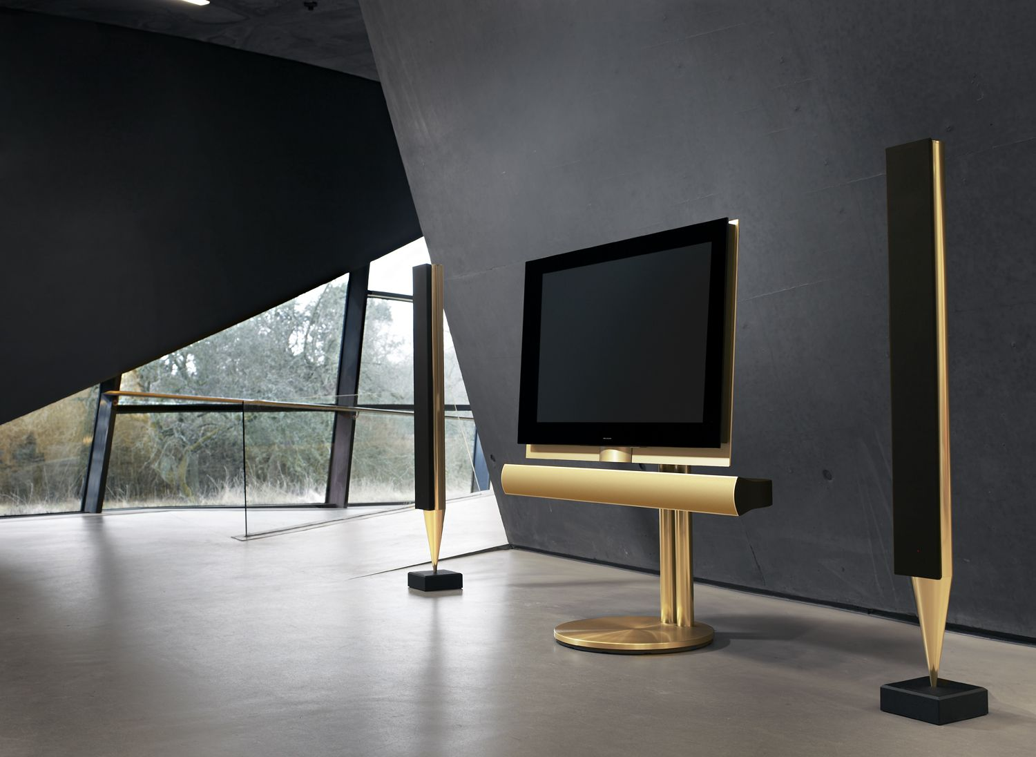 t l viseur 3d beovision 7 55 par bang olufsen bangs interiors and product design. Black Bedroom Furniture Sets. Home Design Ideas