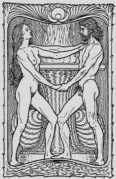 Fidus - Love (Liebe) 1901