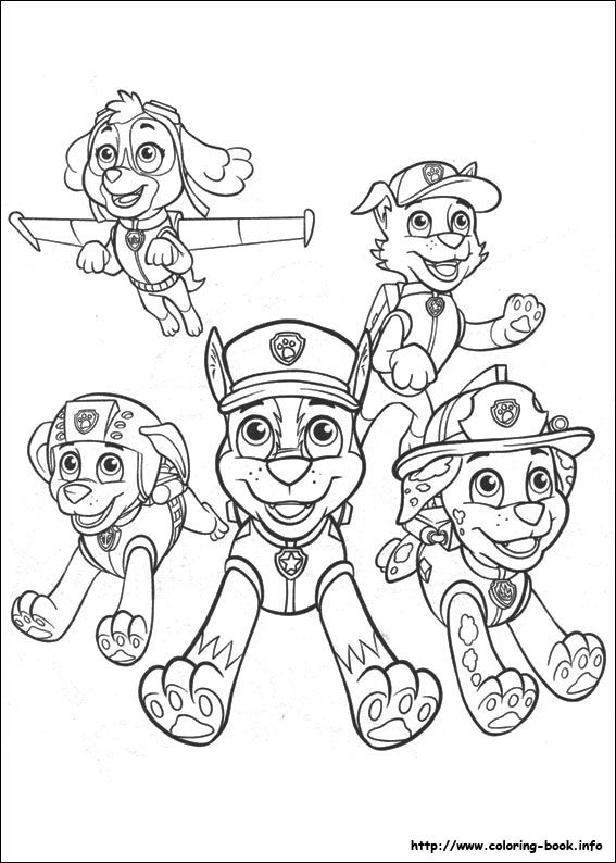 Paw Patrol coloring picture | Colorear | Pinterest | Patrulla Canina ...