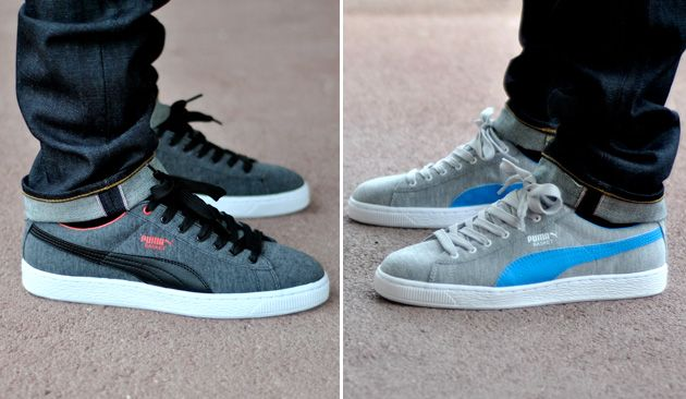 puma clyde vs suede