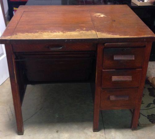 Antique Leopold Typewriter Desk - Antique Leopold Typewriter Desk Typewriters, Desks And Antique