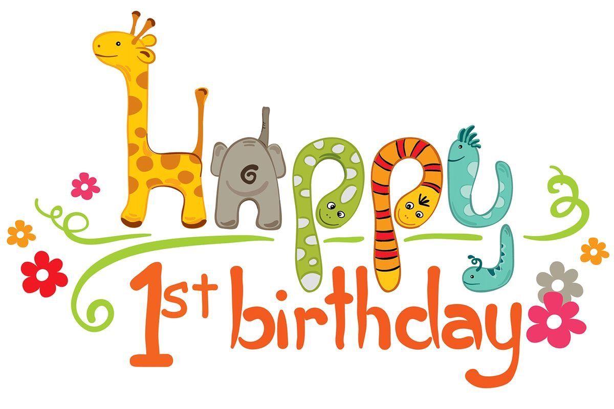 1 Geburtstag Wunsche Bild Von Florencia Arrausi Auf Happy