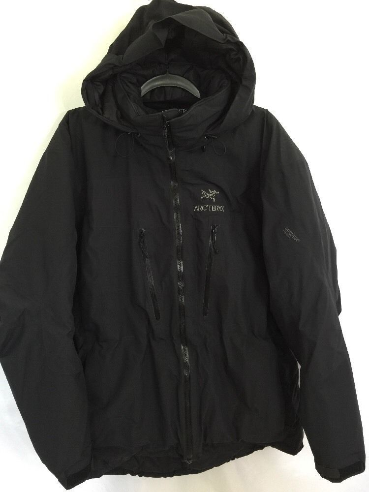 Arcteryx Gore-Tex Pro Shell Black Primaloft Jacket Coat Size XL Mens