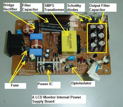 Hardwired Laptop Lcd Monitor Wiring Diagram on