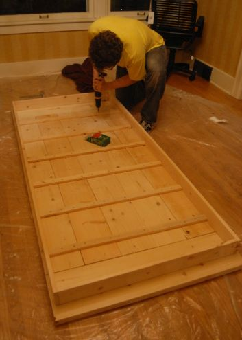DIY Farmhouse Table This With Premade Legs Seems Easiest And Most - Premade wood table tops