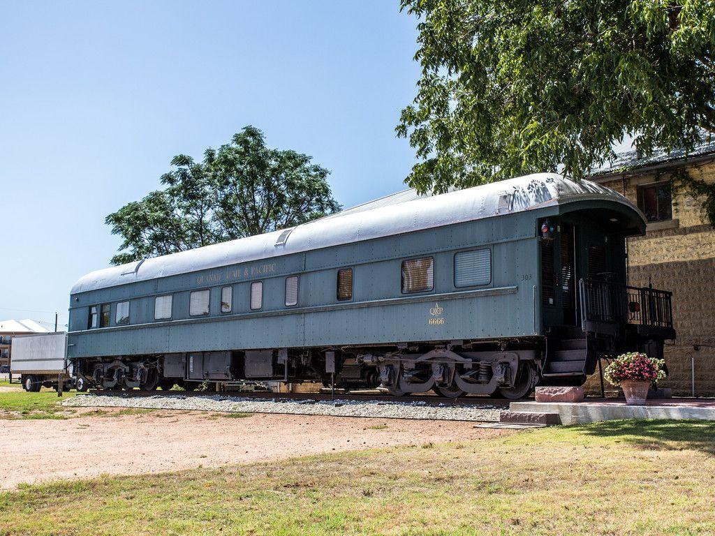 Cozy Up, Texas The 6666 Pullman Train Car Pullman train