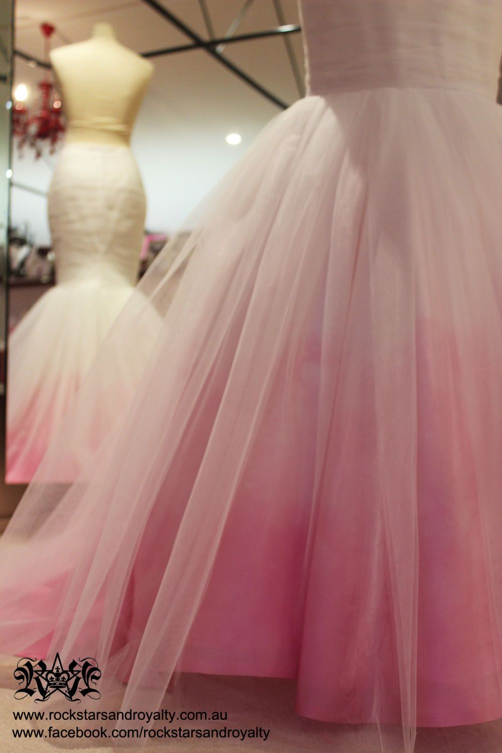 ombre pink wedding dress - Google Search | Wedding ideas ...