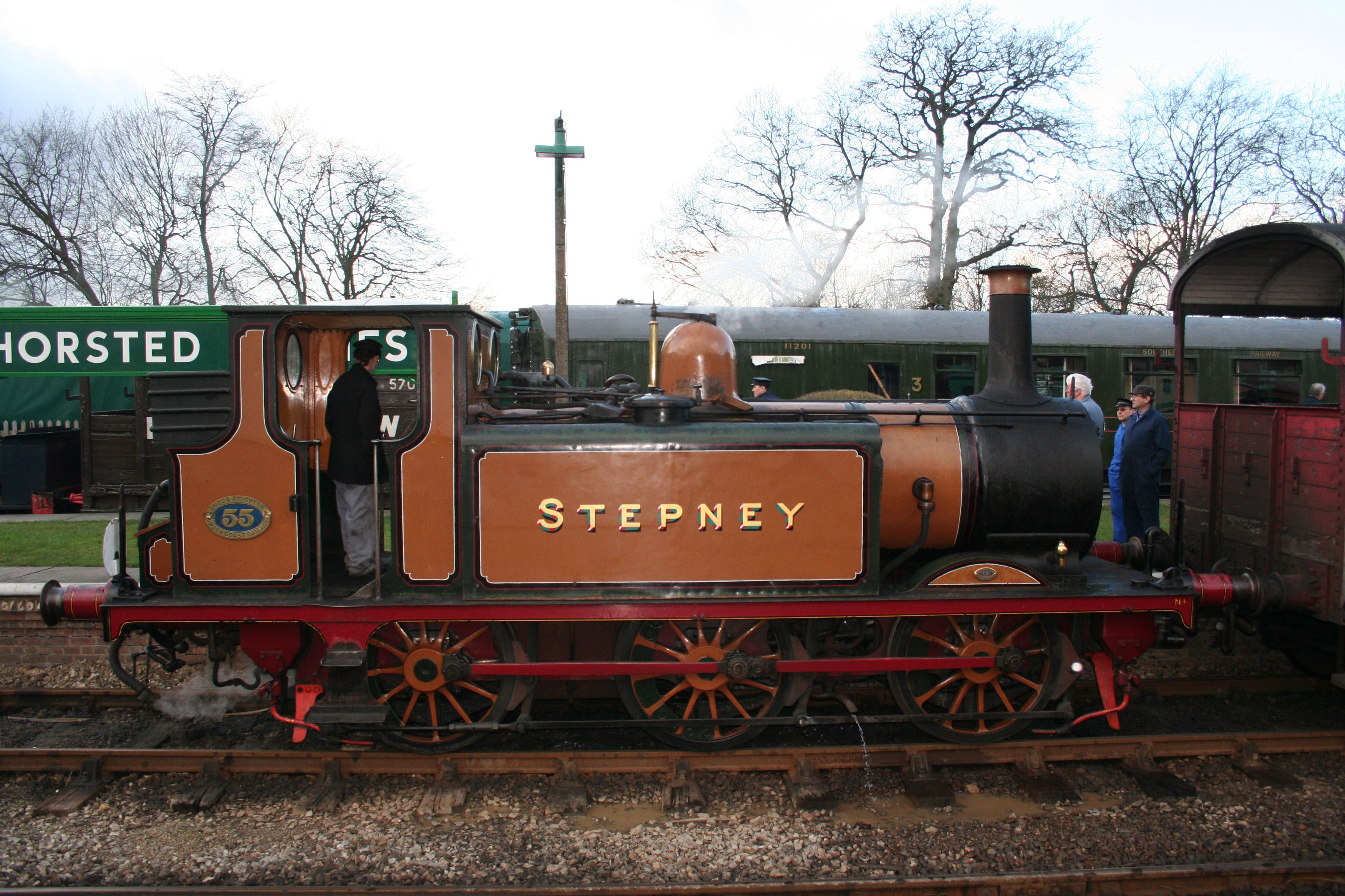 LBSC Tank, Stepney, at Horsted Keynes, Bluebell Railway