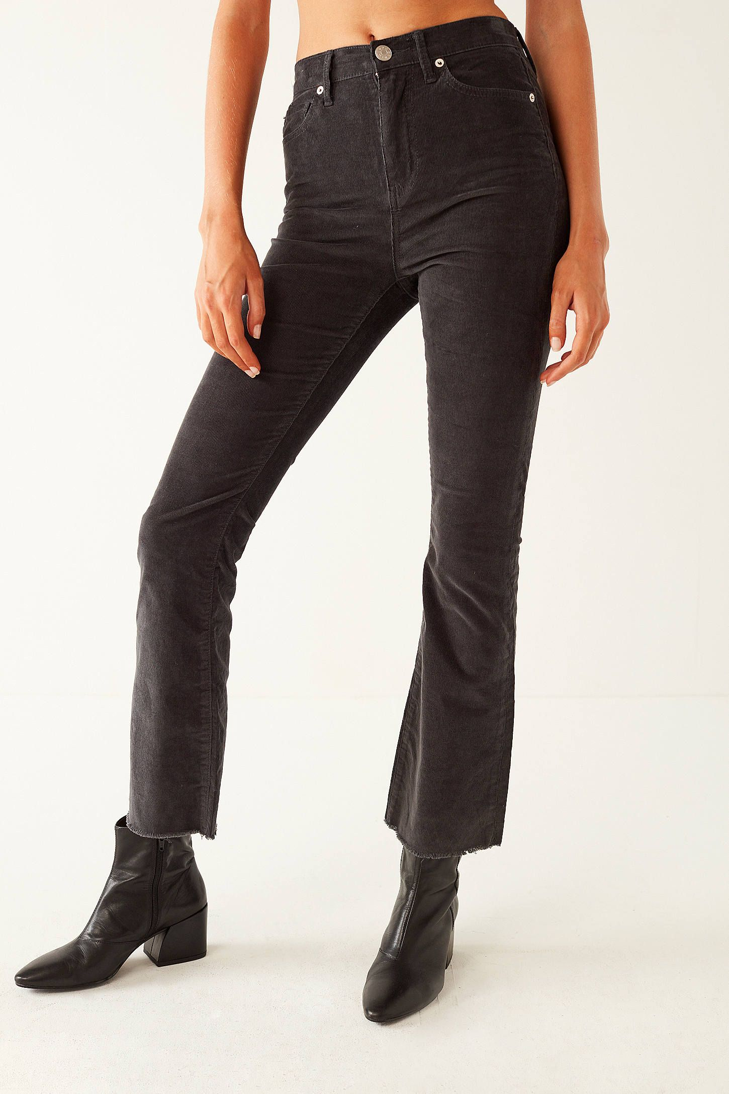 dc8e6c523f Shop BDG Kick Flare High-Rise Cropped Corduroy Pant at Urban Outfitters  today. We
