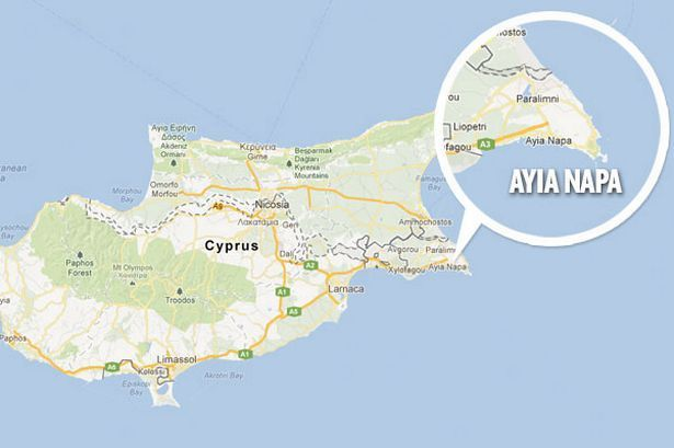 kart over ayia napa ayia napa map   Google Search | Ayia Napa | Pinterest | Ayia napa kart over ayia napa