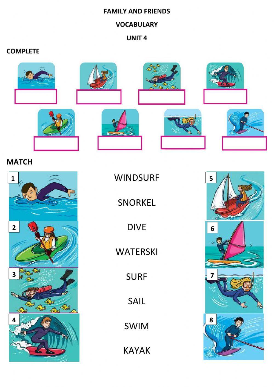 At The Beach Activities Interactive Worksheet Beach Activities Verbs For Kids Activities [ 1413 x 1000 Pixel ]