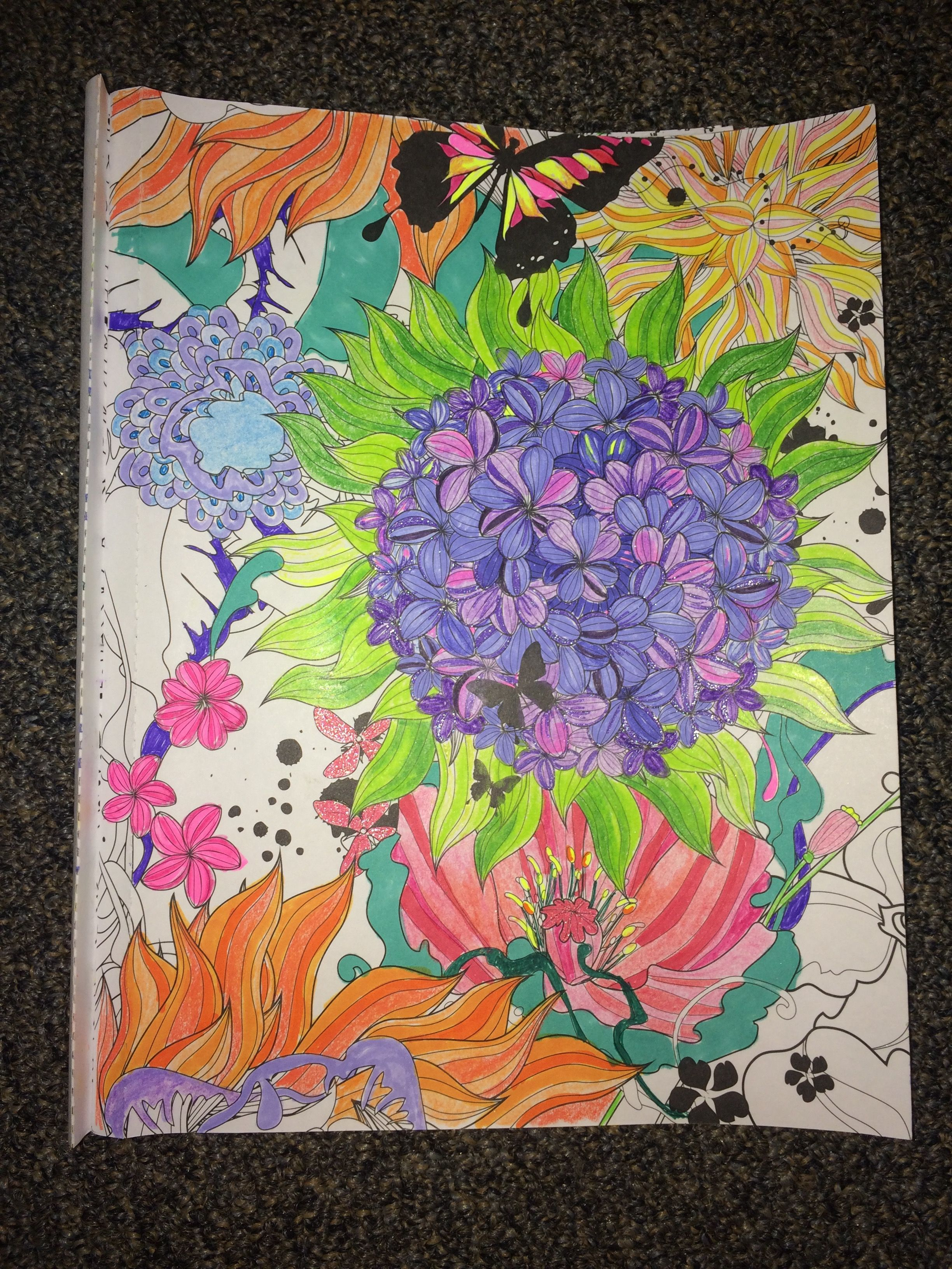 Coloring book color of art - Adult Coloring From Color Art For Everyone Album On Imgur