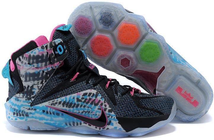 Nike LeBron 12 23 Chromosomes Shoes