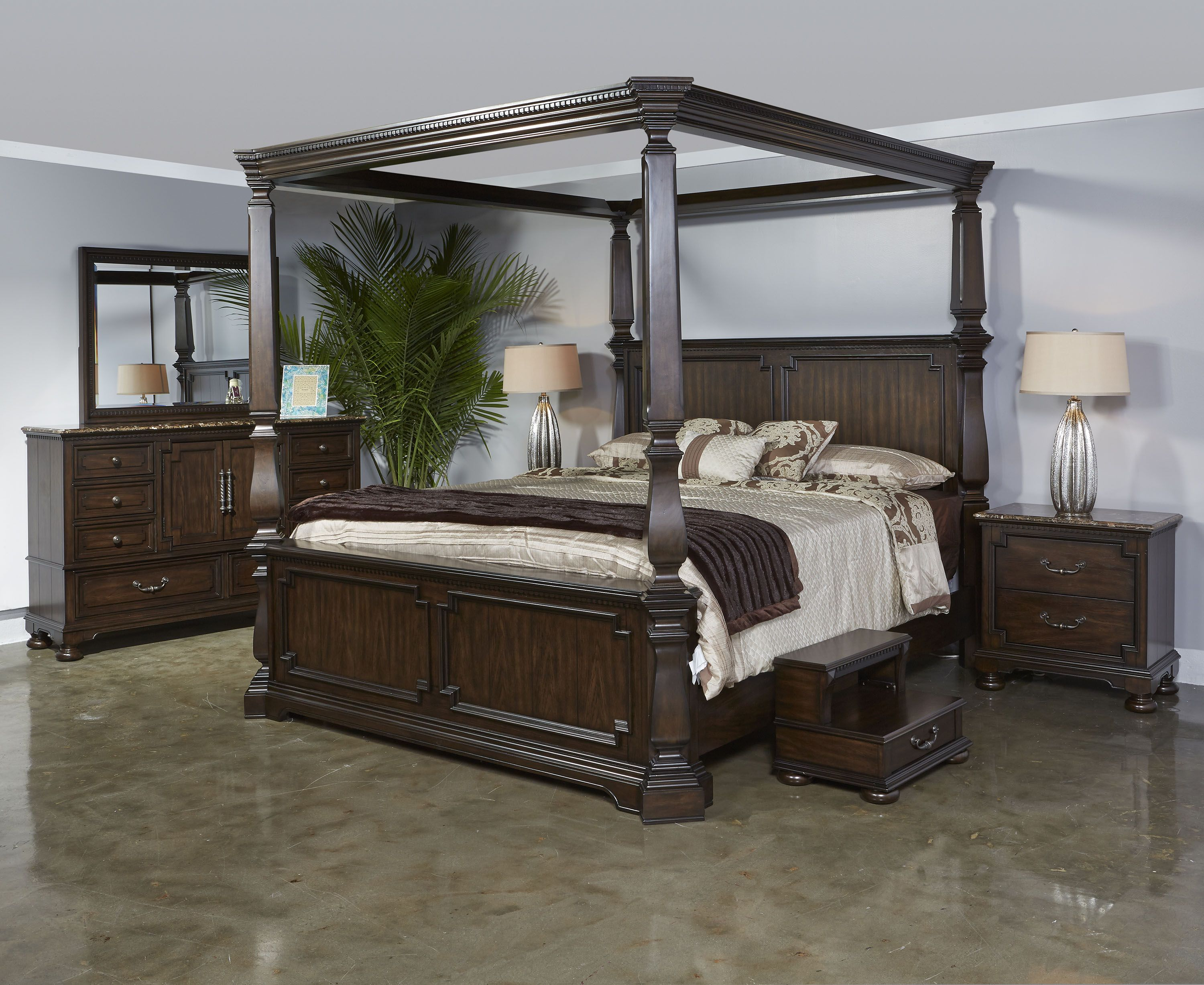 Vienna Canopy Bedroom Canopy bedroom, Furniture, Home decor