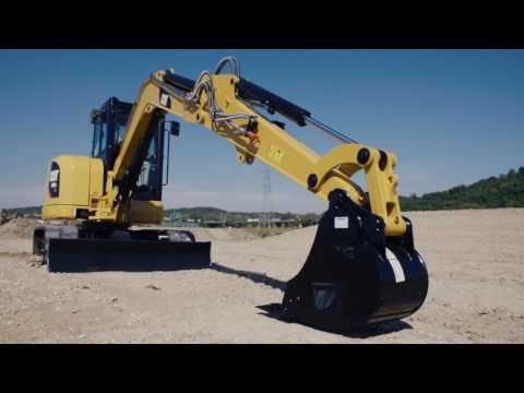 How To Properly Park Cat Mini Excavator Foley Equipment Tech Tips Youtube Mini Excavator Excavator Mini