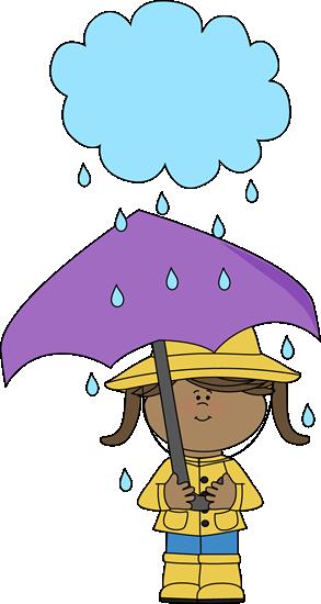 Girl Under A Rain Cloud Clip Art Girl Under A Rain Cloud Image Clip Art Art Art Girl