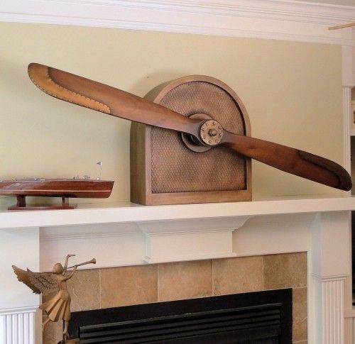 Bi Plane Nose Propeller Holder Is A Great Way To Make A