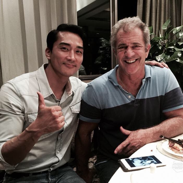 with Mel Gibson~Wow~~!!!^^ http://honey-side.com
