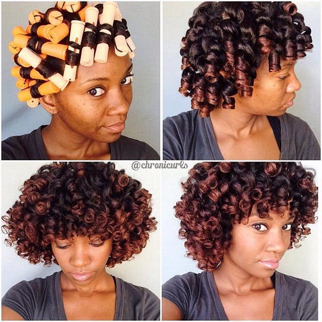 hair perm rod styles chronicurls orange perm rods might just be my new fav 3741