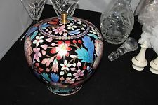 Chinese Cloisonné Enameled Covered Vase
