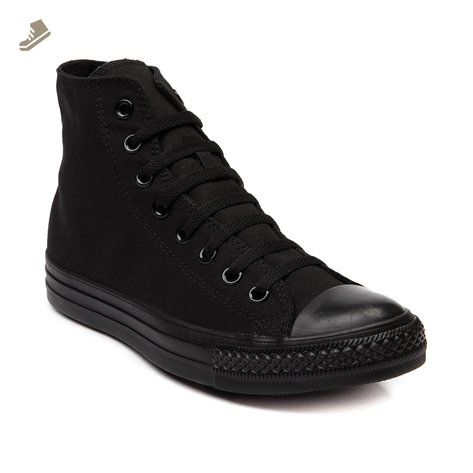 a87bf3f2844796 Converse Chuck Taylor All Star Hi Top Black Monochrome with Extra Pair of  Black Laces men s 15 - Converse chucks for women ( Amazon Partner-Link)