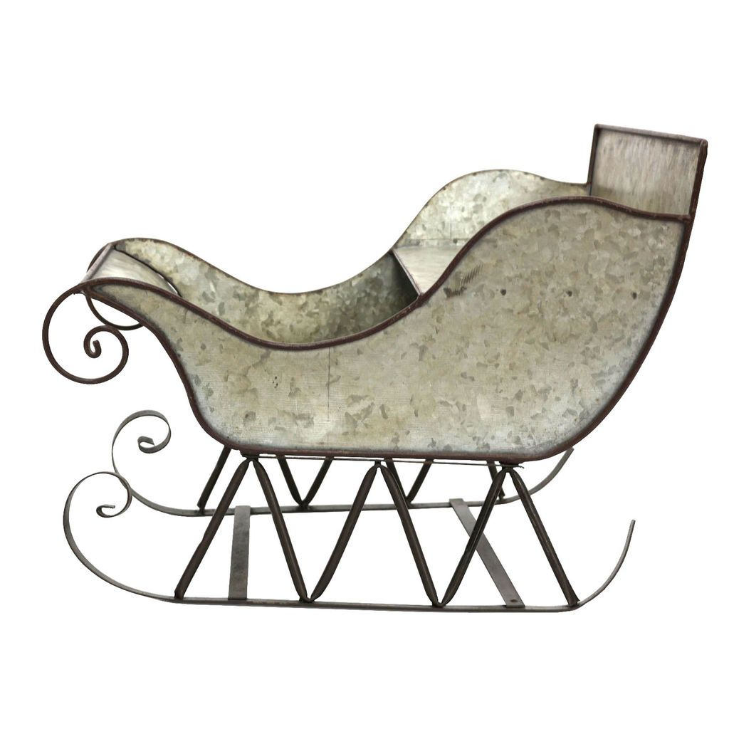 Buy the Metal Sleigh Tabletop Decor By Ashland® at Michaels