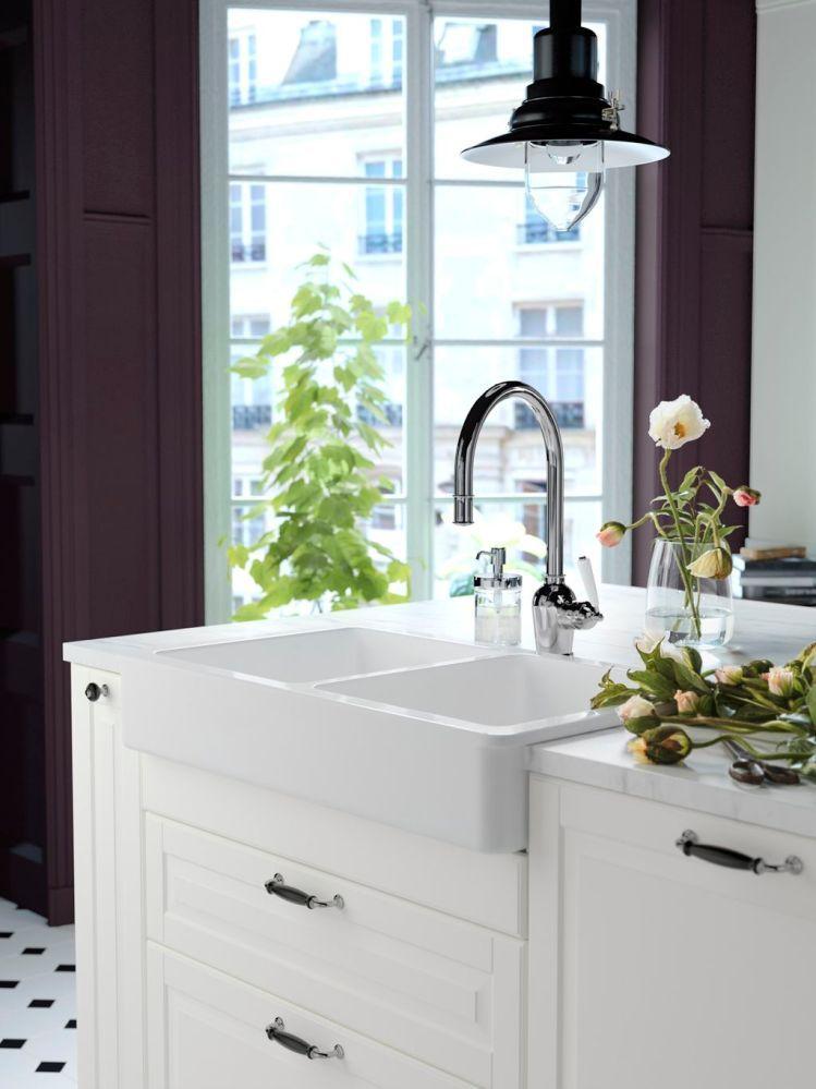 Ikea Le Nouveau Design Cuisines 2018 2019 Planete Deco A Homes World En 2020 Meuble Bas Salle De Bain Meuble Cuisine Decoration Interieure Cuisine