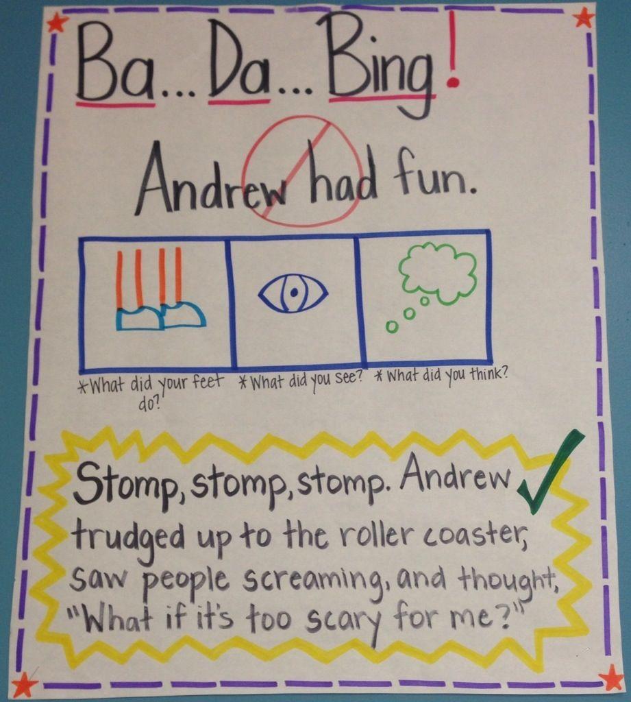 Ba Da Bing Sentences 3rd Grade Language Arts