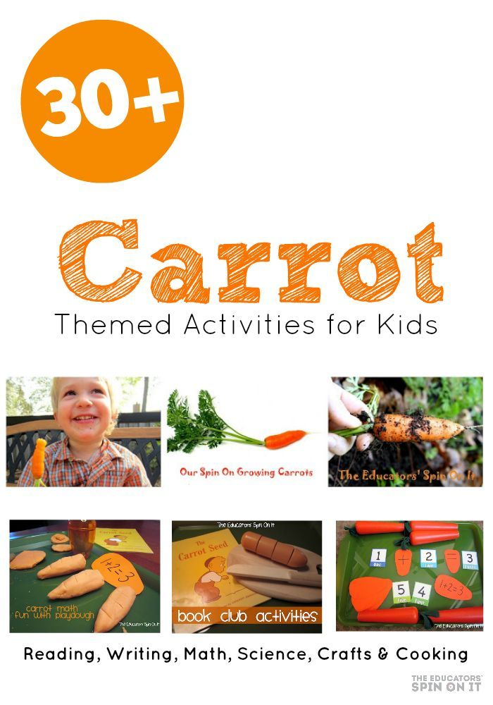 The Carrot Seed Activities The Carrot Seed Activities