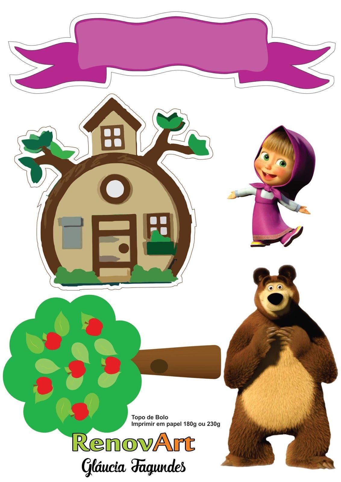 Masha And The Bear Cake Ideas