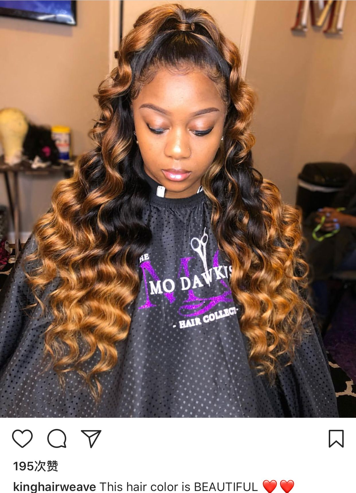 @woollffiie😍😭   Black hair inspiration, Weave ponytail ...