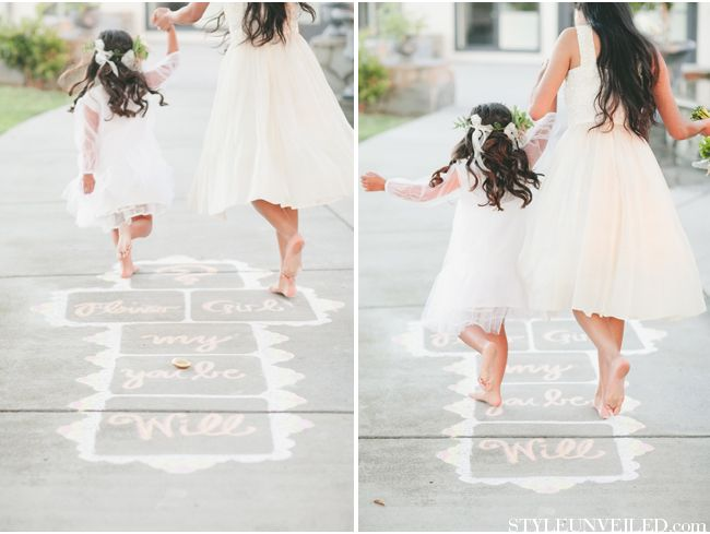 How To Keep Your Guests Comfy At Your Outdoor Wedding: How To Keep Your Littlest Guests Entertained At Your