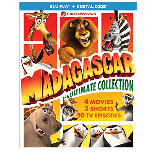 Madagascar: The Ultimate Collection [Blu-ray] Only $19.99 (Was $39.98) #bluray