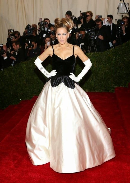 GOSSIP OVER THE WORLD: Red Carpet Celebrity Style from the MET Gala 2014 ...