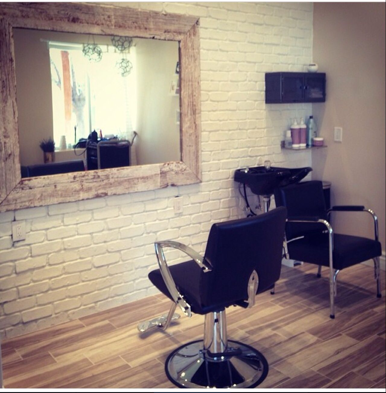 Hair Haus #salon #home  Home salon, Home hair salons, Salon decor