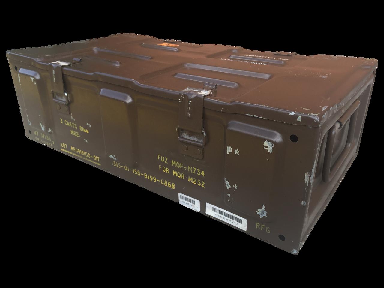 FREE SHIPPING Pelican Hardigg Military Gun Ammo Storage Box