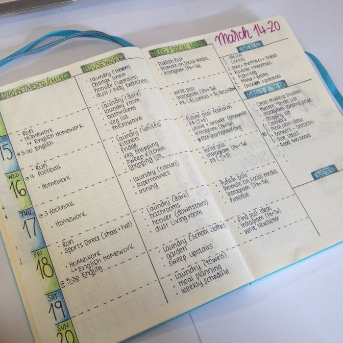 Weekly Layout Bullet Journal Pinterest Layouts, Bullet and - agenda examples