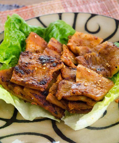 Korean Gochujang Samgyupsal Pork Belly Make The Gochujang Sauce By Combining 3 Tablespoons