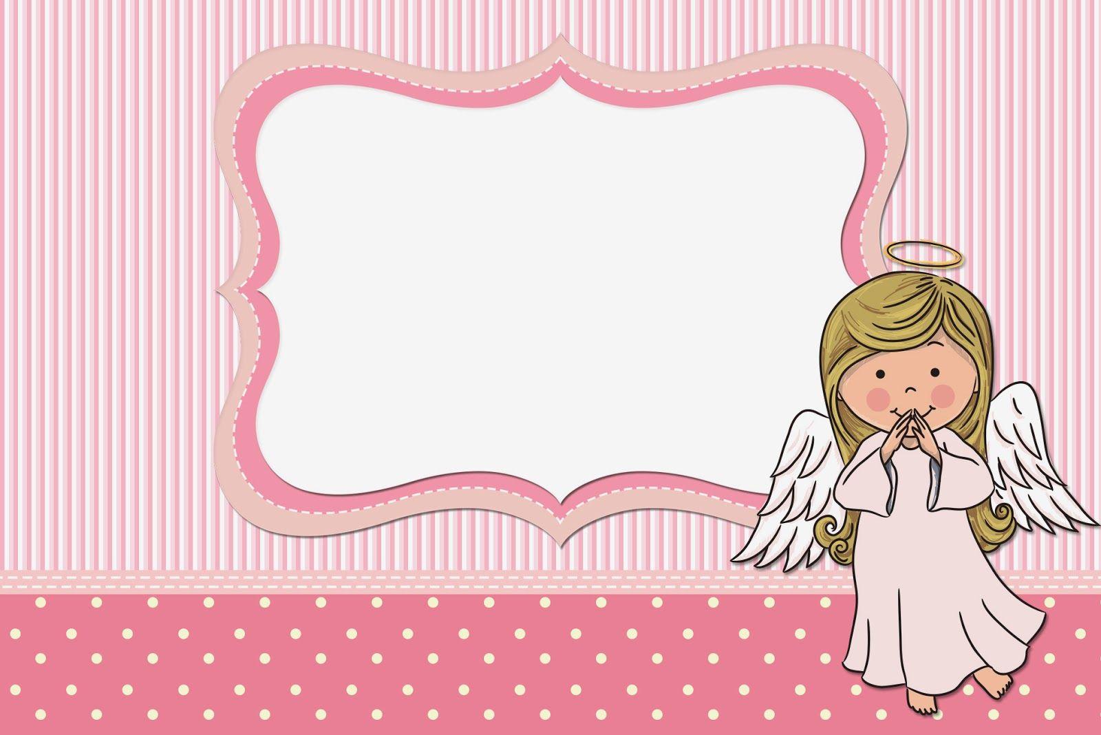 Angelita: Invitaciones para Imprimir Gratis. | laurita | Pinterest ...