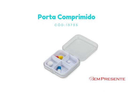 Porta Comprimido personalizado para brindes Solicite seu orçamento a partir  de 85 unidades Venha conferir! a1e5485e31a7