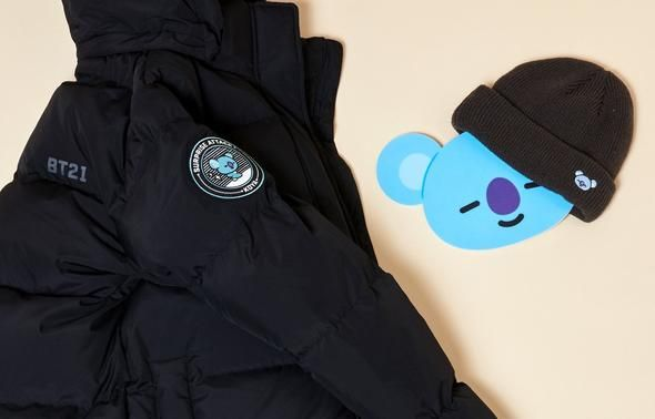 fe29b46e7 Bt21 koya long bench coat(padded jacket) - 2019   BT21 Koya   Bench ...