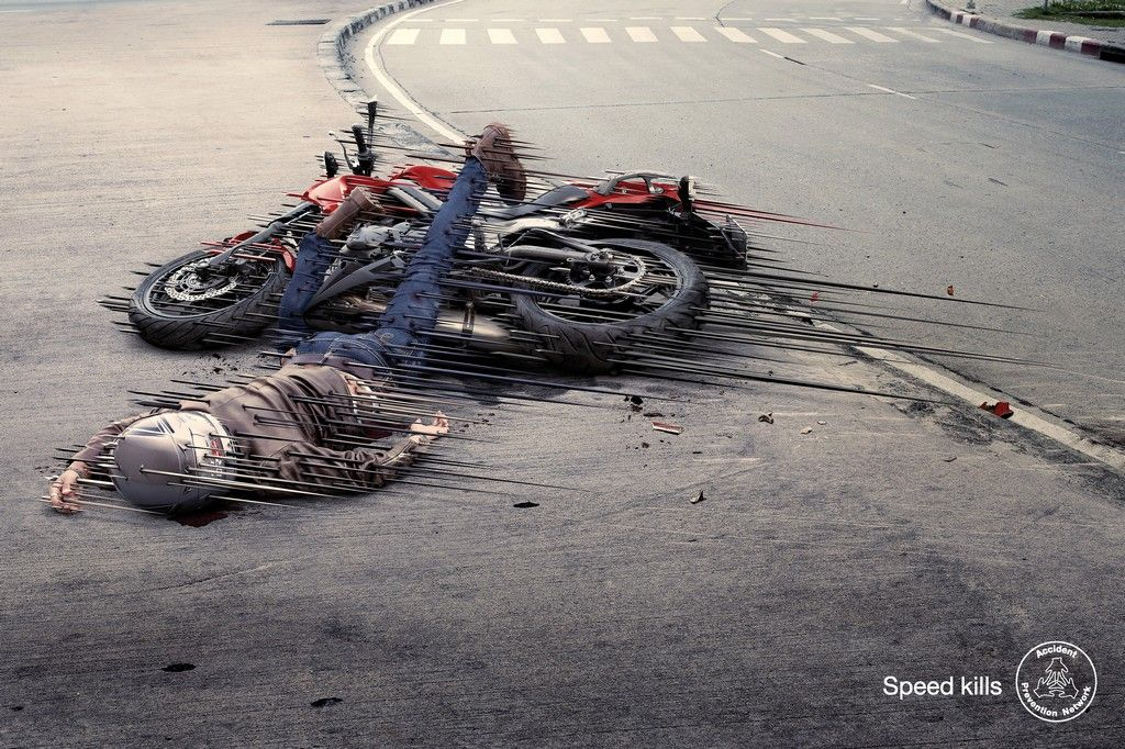 Powerful Social Ads: •• Accident Prevention Network