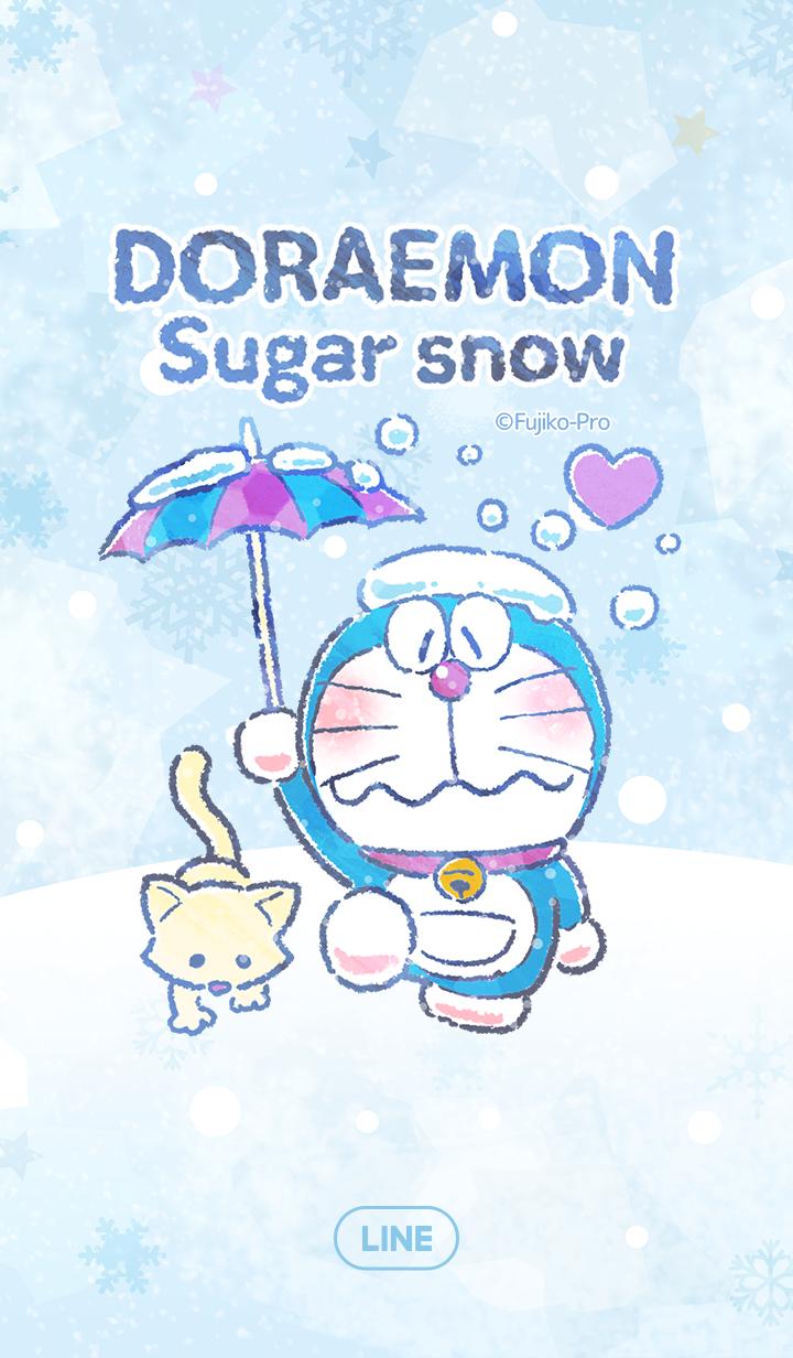 Doraemon: Sugar Snow – LINE temas | LINE STORE