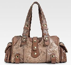 Pre-owned - Silverado python handbag Chlo 2GWXC0