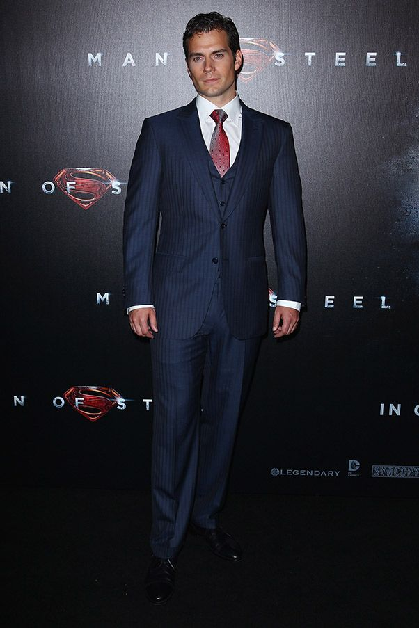 Henry Cavill  suits up in Ermenegildo Zegna  6fb99d34ca9