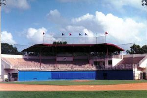 One Of The Nation S Finest Small College Baseball Fields Alfond Stadium At Harper Shepherd Field W Winter Park Colleges In Florida Mediterranean Architecture